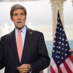 US Secretary of State John Kerry meets with Greek Foreign Minister Nikos Kotzias