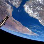 International Space Station flyover of Gulf of Aden and Horn of Africa