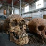 Skeleton findings in protestant church
