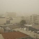 Πυκνή σκόνη στην Ατμόσφαιρα και στη Λεμεσό.