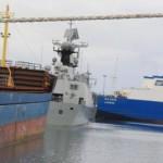 """Λιμάνι Λεμεσού Τελετή καλωσορίσματος του «Castorone», ενός από τα πλέον σύγχρονα και εξειδικευμένα πλοία στον τομέα των υδρογονανθράκων.  // Lemesos Port Ceremony to welcome """"Castorone"""", one of the most modern and specialized vessels in the hydrocarbon sector."""