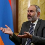 FILE PHOTO: Armenian Prime Minister Nikol Pashinyan is pictured during an interview with Reuters in Yerevan, Armenia October 13, 2020.  Hayk Baghdasaryan/Photolure via REUTERS ATTENTION EDITORS - THIS IMAGE HAS BEEN SUPPLIED BY A THIRD PARTY/File Photo